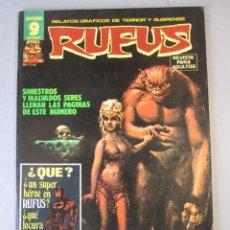 Cómics: RUFUS (1973, IMDE / GARBO) 52 · IX-1977 · RUFUS. Lote 152816354