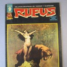 Cómics: RUFUS (1973, IMDE / GARBO) 56 · I-1978 · EL SACRIFICIO. Lote 152817586
