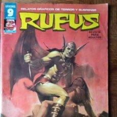 Cómics: RUFUS Nº 46 - GARBO-. Lote 153986590