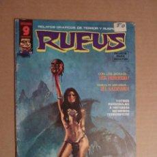 Cómics: RUFUS. SUPERCOMICS GARBO. Nº 28. Lote 154362742
