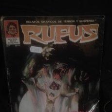 Cómics: RUFUS 4 #. Lote 156745166