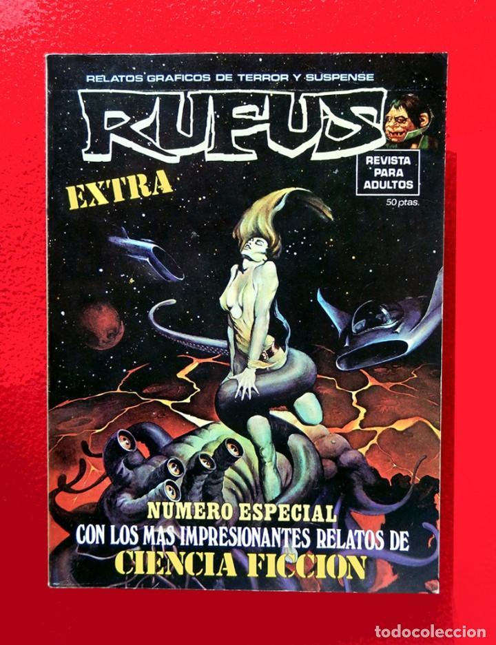 RUFUS EXTRA - NÚMERO ESPECIAL CIENCIA FICCIÓN, - PRIMERA EDICIÓN 1974 - ORIGINAL - EDITORIAL GARBO (Tebeos y Comics - Garbo)