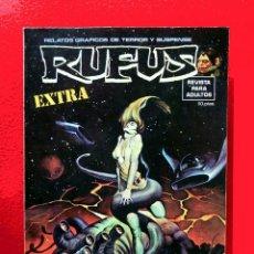 Cómics: RUFUS EXTRA NÚMERO ESPECIAL CIENCIA FICCIÓN, PRIMERA EDICIÓN 1974, ORIGINAL, EDITORIAL GARBO. Lote 157758214
