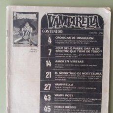 Cómics: CÓMIC VAMPIRELLA,EDITORIAL GARBO,EN ESPAÑOL,AÑO 1976,Nº20. Lote 158823630