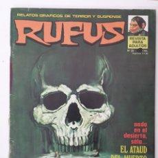 Cómics: LOTE 3 RUFUS. Lote 158939254