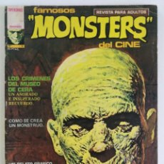 Comics: FAMOSOS MONSTERS DEL CINE Nº 3, EDITORIAL GARBO (1975). Lote 160413686