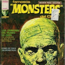 Cómics: FAMOSOS MONSTERS DEL CINE Nº 3 - GARBO 1975 - CON HISTORIETA A TODO COLOR DE RICHARD CORBEN . Lote 162293430