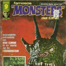 Comics: FAMOSOS MONSTERS DEL CINE Nº 6 - GARBO 1975 - CON HISTORIETA CENTRAL A TODO COLOR DE RICHARD CORBEN. Lote 162294162