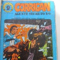 Fumetti: CORRIGAN, AGENTE SECRETO X - 9. Nº 21. SUPERCOMICS GARBO. 1973 E10X2. Lote 166956144