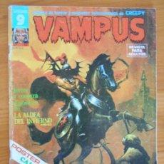 Cómics: VAMPUS - Nº 52 - INCLUYE POSTER - CREEPY - GARBO (AN). Lote 167005488