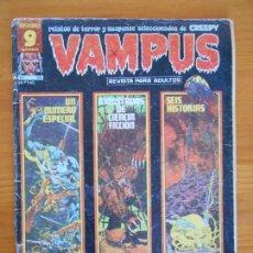 Comics: VAMPUS - Nº 68 - CREEPY - GARBO - LEER DESCRIPCION (AN). Lote 167005860