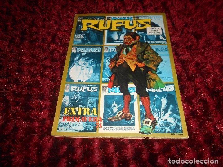 RUFUS- EXTRA PRIMAVERA-1974- BUENO-MUY DIFÍCIL-PABLO MARCOS- GRANDENETTI-USERO-AURALÉON-9174 (Tebeos y Comics - Garbo)