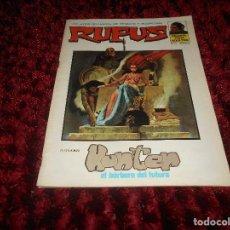 Cómics: RUFUS (1973, IMDE / GARBO) 13 · VI-1974 · HUNTER, EL BÁRBARO DEL FUTURO EXCELENTE. Lote 167547024