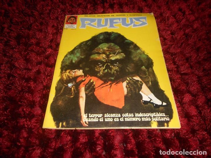 RUFUS Nº 3 EDI. IBERO MUNDIAL 1973 - DRACULA POR BILL DUBAY - ESTEBAN MAROTO LA COSA DEL PANTANO ETC (Tebeos y Comics - Garbo)