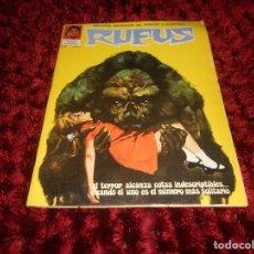 Cómics: RUFUS Nº 3 EDI. IBERO MUNDIAL 1973 - DRACULA POR BILL DUBAY - ESTEBAN MAROTO LA COSA DEL PANTANO ETC. Lote 167547112