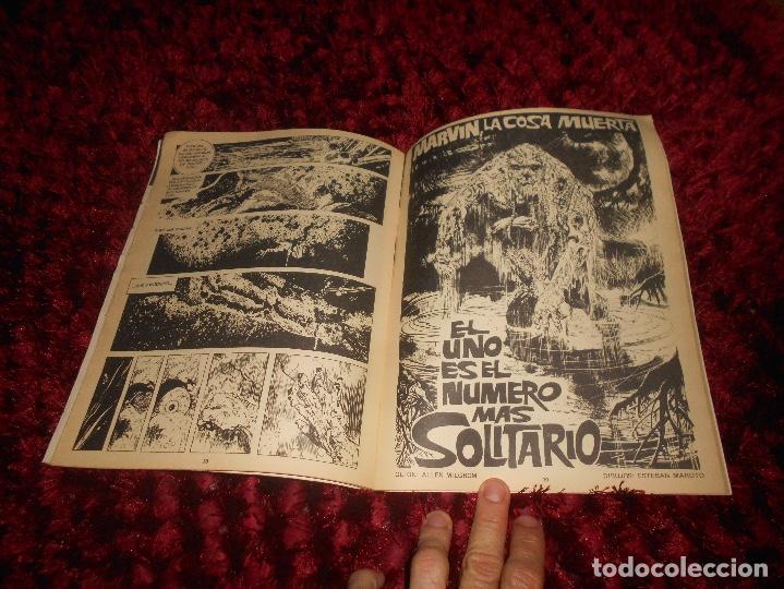 Cómics: RUFUS Nº 3 EDI. IBERO MUNDIAL 1973 - DRACULA por BILL DUBAY - ESTEBAN MAROTO la COSA DEL PANTANO ETC - Foto 3 - 167547112