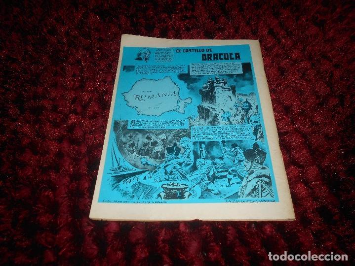 Cómics: RUFUS Nº 3 EDI. IBERO MUNDIAL 1973 - DRACULA por BILL DUBAY - ESTEBAN MAROTO la COSA DEL PANTANO ETC - Foto 4 - 167547112