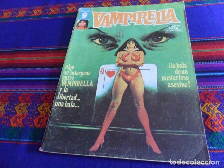Cómics: VAMPIRELLA NºS 5, 6 Y 24. GARBO 1975. CON REGALOS: CINE FANTÁSTICO BARBARELLA POR LUIS VIGIL Y MÁS. - Foto 3 - 50235606