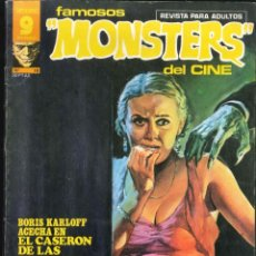 Cómics: FAMOSOS MONSTERS DEL DEL CINE NÚMERO 18 SUPERCÓMICS GARBO . Lote 167665576