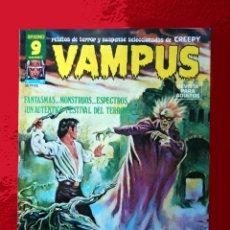 Cómics: VAMPUS Nº 67 - SELECCIÓN DE CREEPY, - EDITORIAL GARBO 1977, ORIGINAL, POSTER CENTRAL DE J. M. BEA.. Lote 167670517