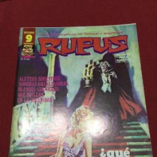 Cómics: RUFUS NUMERO 47 NORMAL ESTADO. Lote 170196312