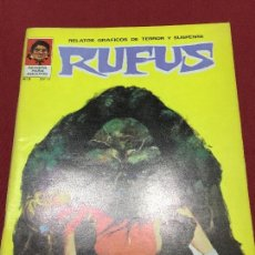 Cómics: RUFUS NUMERO 3 NORMAL ESTADO. Lote 170196922