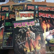 Comics: LOTE RUFUS Nº 19, 33, 34, 40, 48, 52, 54 Y 56 (GARBO) (COIB9). Lote 172028979