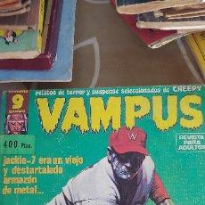 Cómics: VAMPUS TOMO RETAPADO CON LOS Nº 64-65-66-67-68-69-70 GARBO DIFÍCIL CON POSTERS. Lote 173288042