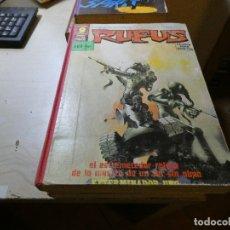 Cómics: PRECIOSO RETAPADO RUFUS DE GARBO TOMO RETAPADO RUFUS - CONSTA DE 7 EJEMPLARES Nº 34,39,29,42,28,53 . Lote 175719778