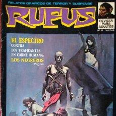 Cómics: RUFUS Nº 16. Lote 176462863
