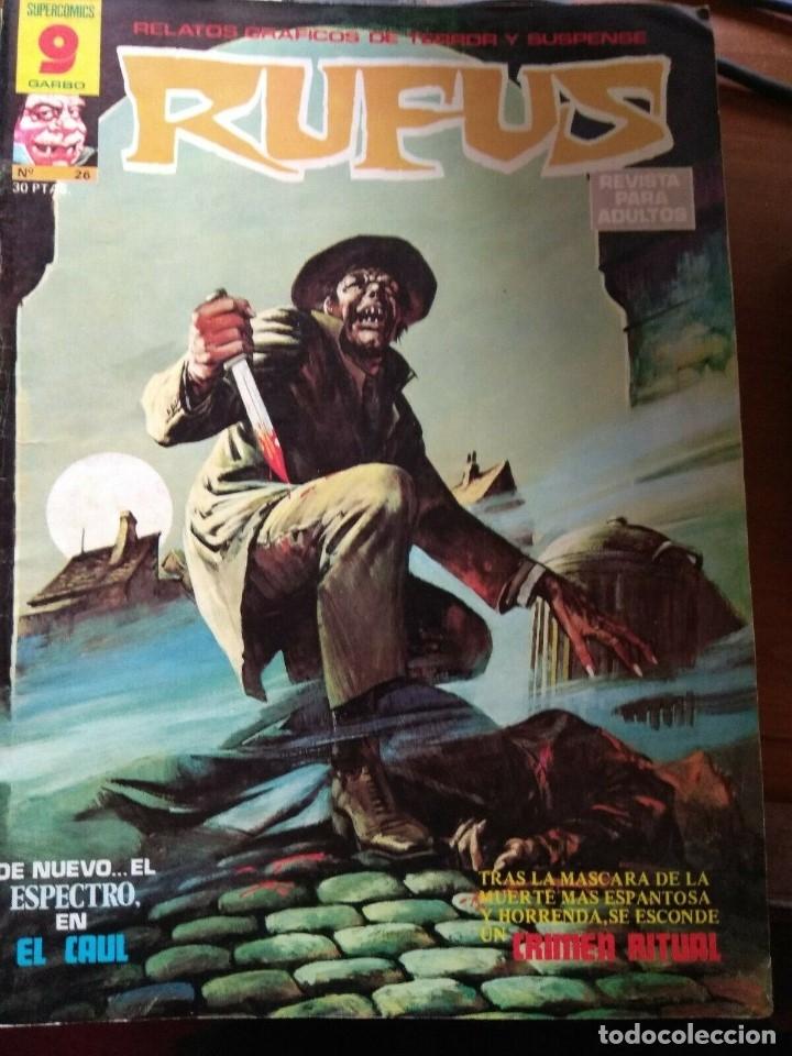 RUFUS Nº 26 (Tebeos y Comics - Garbo)