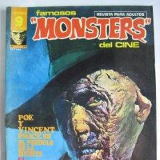 Cómics: FAMOSOS MONSTERS DEL CINE - GARBO Nº17. Lote 177295314