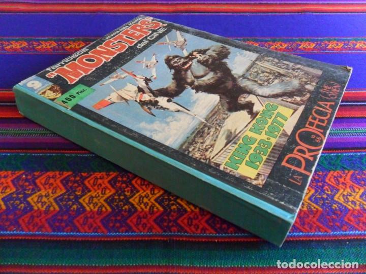TOMO RETAPADO FAMOSOS MONSTERS DEL CINE CON NºS 21 7 8 9 10 11 12. GARBO 1975. RARO. (Tebeos y Comics - Garbo)