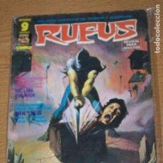 Cómics: GARBO RUFUS 27. Lote 178277160