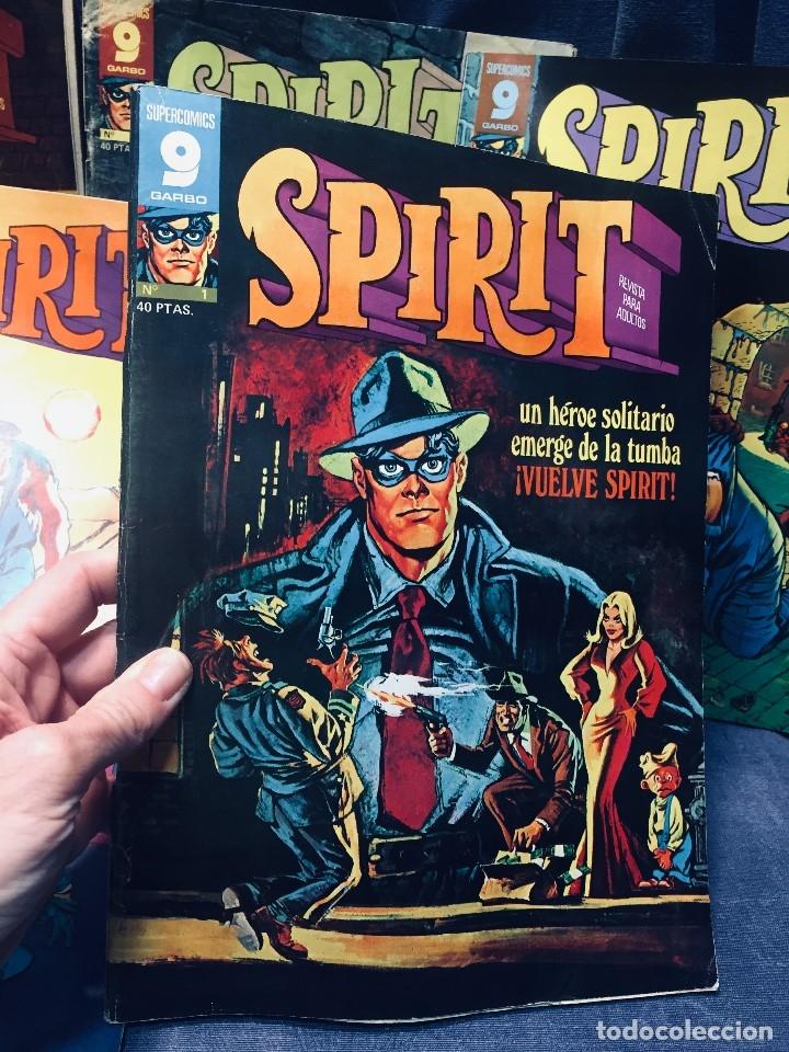 Cómics: LOTE 10 COMICS SPIRIT SUPERCOMICS GARBO - Foto 9 - 178802426