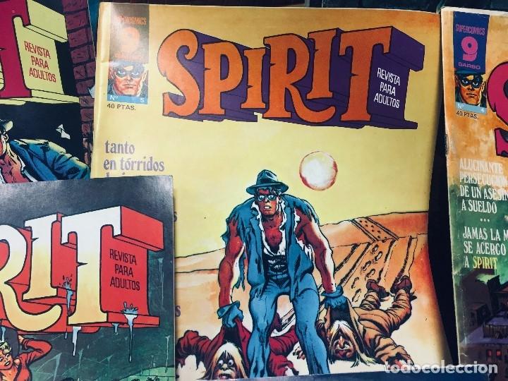 Cómics: LOTE 10 COMICS SPIRIT SUPERCOMICS GARBO - Foto 10 - 178802426