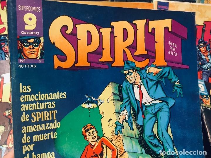 Cómics: LOTE 10 COMICS SPIRIT SUPERCOMICS GARBO - Foto 11 - 178802426