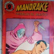 Cómics: SUPERCOMICS GARBO-Nº 17 - MANDRAKE- PESADILLA- GRAN LEE FALK-1976-CORRECTO-DIFÍCIL-LEAN-2128. Lote 178988905