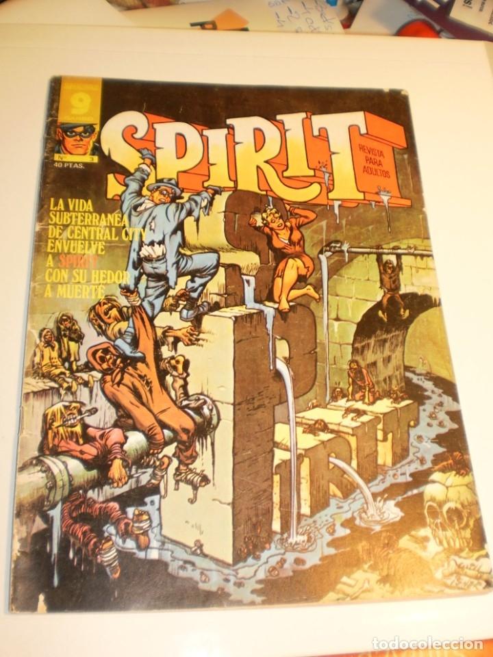 SUPERCOMICS GARBO. SPIRIT Nº 3. 1975 (EN ESTADO NORMAL) (Tebeos y Comics - Garbo)