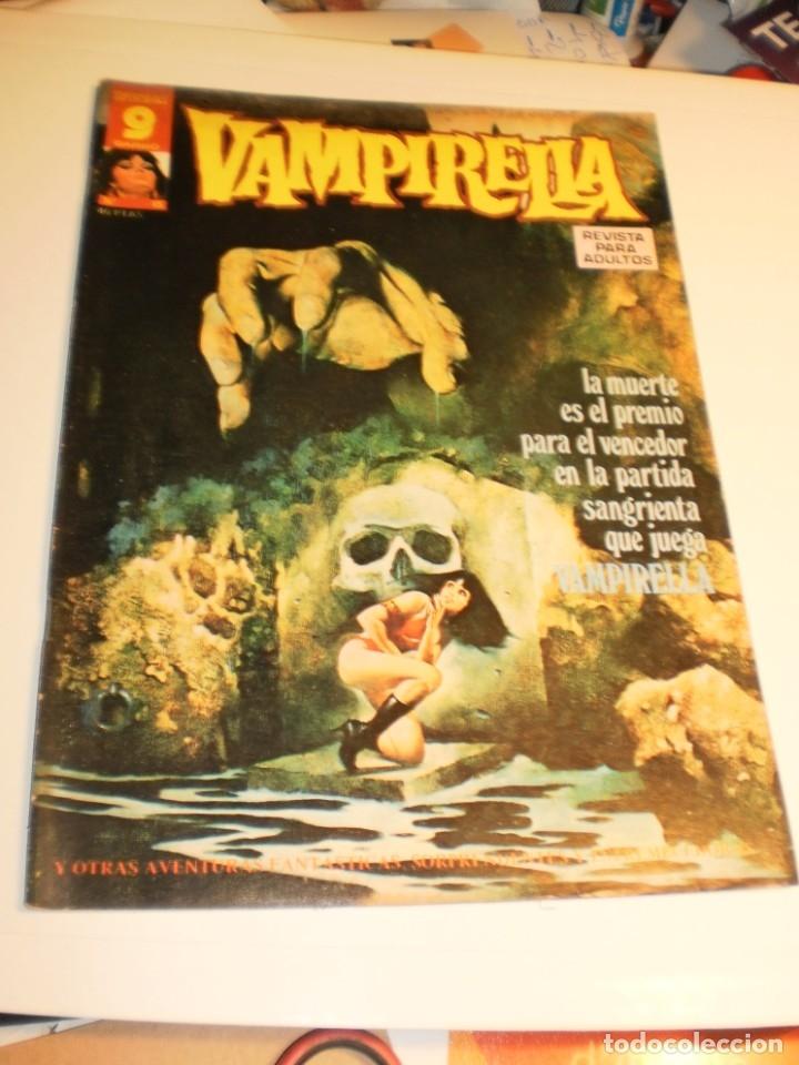 SUPERCOMICS GARBO. VAMPIRELLA Nº 15. 1973 (EN ESTADO NORMAL) (Tebeos y Comics - Garbo)