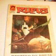Cómics: SUPERCOMICS GARBO. RUFUS Nº 8. 1973 (EN ESTADO NORMAL). Lote 179009478