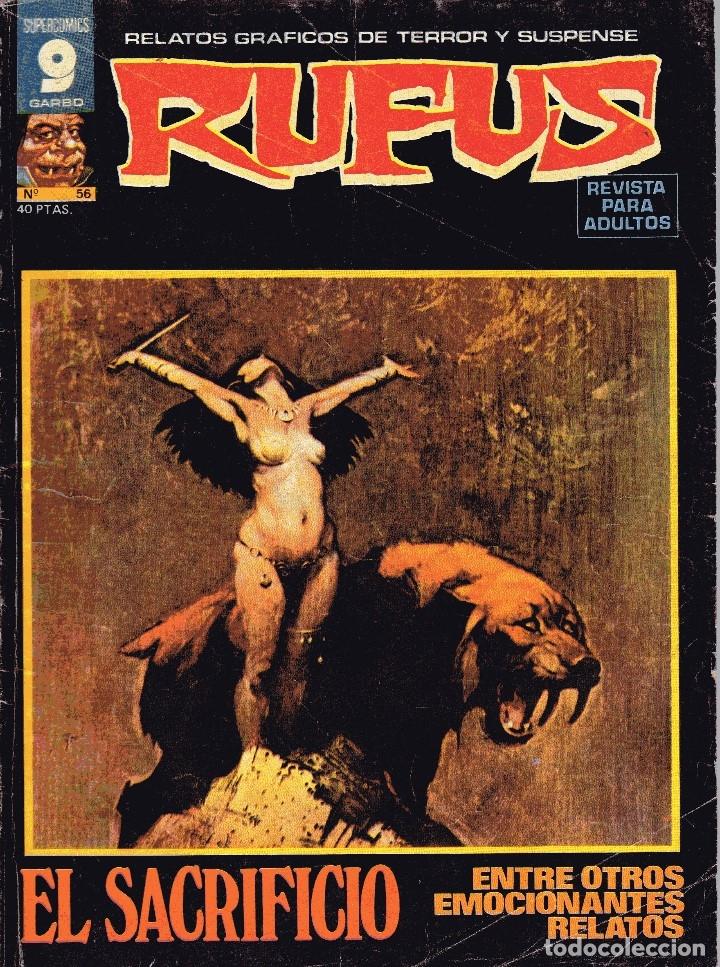 COMIC RUFUS Nº9 ED.GARBO 1973 (Tebeos y Comics - Garbo)
