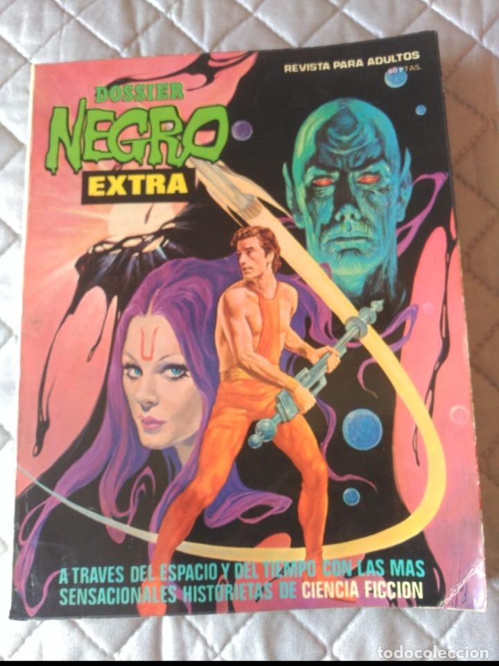 DOSSIER NEGRO ESPECIAL CIENCIA FICCIÓN (Tebeos y Comics - Garbo)
