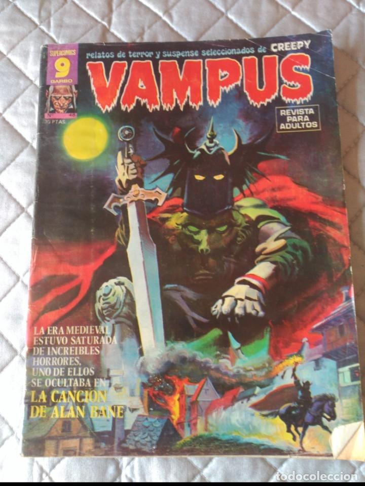 VAMPUS Nº 48 AÑO1974 (Tebeos y Comics - Garbo)