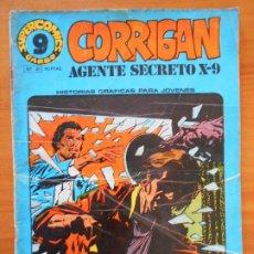 Cómics: CORRIGAN AGENTE SECRETO X-9 Nº 21 - GARBO (HK). Lote 180087356