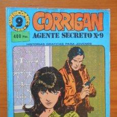 Cómics: CORRIGAN AGENTE SECRETO X-9 - COMPLETA - 8 NUMEROS - RETAPADO - GARBO (HK). Lote 180088468