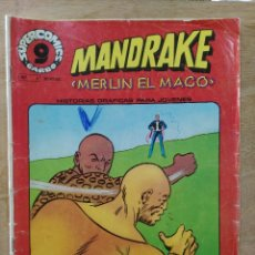Cómics: MANDRAKE, MERLÍN EL MAGO - SUPERCOMICS GARBO Nº 5 - ED. GARBO. Lote 180098656