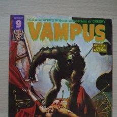 Cómics: VAMPUS Nº 50 - GARBO - OCTUBRE 1975 - 30 PTAS. Lote 180295915