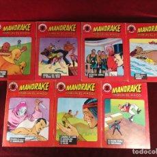 Cómics: MANDRAKE MERLIN EL MAGO LOTE DE 7 NÚMEROS SUPERCOMICS GARBO. Lote 181714837