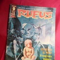 Cómics: RUFUS . Nº 39. ¡ENTREGAD AL NIÑO!. EDITORIAL GARBO - RESERVADO, NO COMPRAR. Lote 181967753
